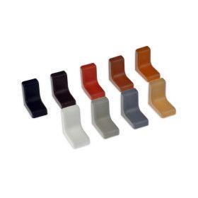 kątowowniki w różnych kolorach