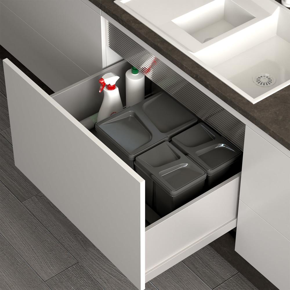 Porządek w kuchni, czyli pojemniki do segregacji śmieci
